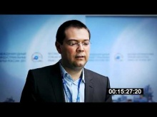 "Gabriel Gantner from DEGA AG. The Second Forum ""Industrial Parks in Russia - 2011"""