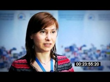 "Oxana Selska from EBRD. The Second Forum ""Industrial Parks in Russia - 2011"""