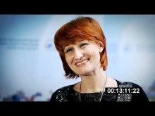 "Tamara Galkina from Industrial Park Rodniki, Ivanovo. The Second Forum ""Industrial Parks in Russia - 2011"""